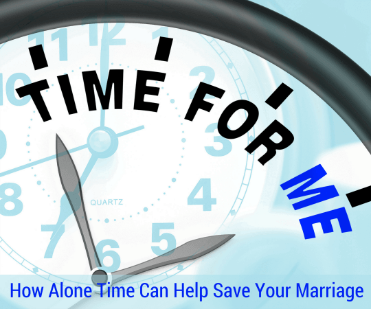 How Alone Time Can Help Save Your Marriage